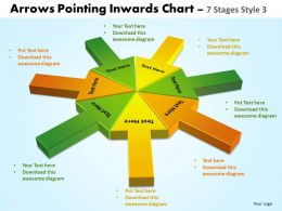 Arrows Pointing Inwards Chart 7 Stages 5
