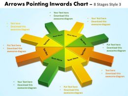 Arrows Pointing Inwards Chart 8 Stages 2