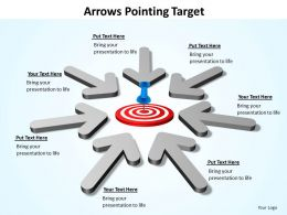 Arrows Pointing Target