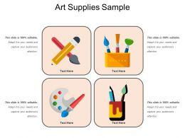 Art Supplies Sample
