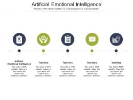 Artificial Emotional Intelligence Ppt Powerpoint Presentation File Portrait Cpb