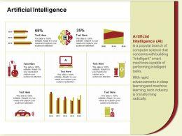 Artificial Intelligence Advancements M589 Ppt Powerpoint Presentation File Clipart