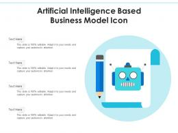 Artificial Intelligence Based Business Model Icon