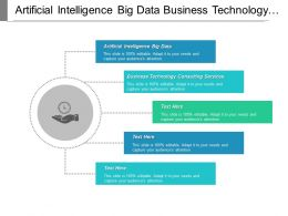 Artificial Intelligence Big Data Business Technology Consulting Services Cpb