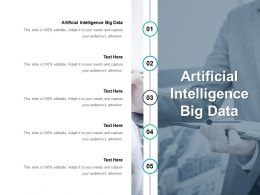 Artificial Intelligence Big Data Ppt Powerpoint Presentation Model Outfit Cpb