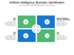 Artificial Intelligence Biometric Identification Ppt Powerpoint Presentation Outline Images Cpb