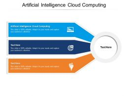 Artificial Intelligence Cloud Computing Ppt Powerpoint Tips Cpb