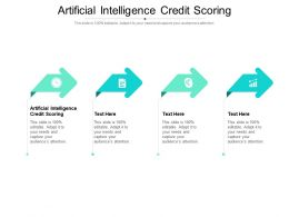 Artificial Intelligence Credit Scoring Ppt Powerpoint Summary Designs Download Cpb