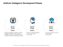 Artificial Intelligence Development Phases Growth Powerpoint Presentation Slides