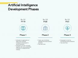Artificial Intelligence Development Phases Technology Ppt Powerpoint Presentation File Styles