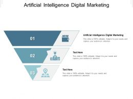 Artificial Intelligence Digital Marketing Ppt Powerpoint Presentation Summary Deck Cpb