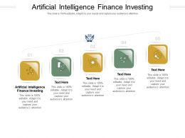 Artificial Intelligence Finance Investing Ppt Powerpoint Presentation Inspiration Clipart Cpb