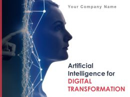 Artificial Intelligence For Digital Transformation Powerpoint Presentation Slides