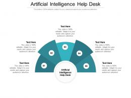Artificial Intelligence Help Desk Ppt Powerpoint Presentation Infographic Template Aids Cpb