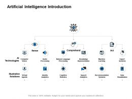 Artificial Intelligence Introduction Data Visualization Powerpoint Presentation Slides