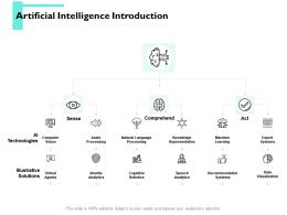 Artificial Intelligence Introduction Identity Analytics Ppt Powerpoint Presentation Portfolio Guide