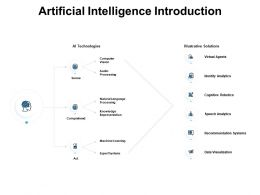 Artificial Intelligence Introduction Processing Ppt Powerpoint Presentation Pictures Files