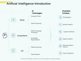 Artificial Intelligence Introduction Score Ppt Powerpoint Presentation File Background