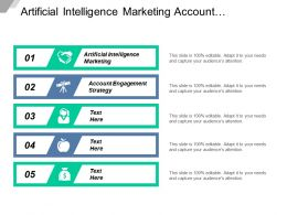 Artificial Intelligence Marketing Account Engagement Strategy Internet Marketing Cpb