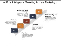 Artificial Intelligence Marketing Account Marketing Campaigns Personalized Marketing Solutions Cpb
