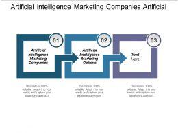 Artificial Intelligence Marketing Companies Artificial Intelligence Marketing Options Cpb
