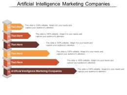 Artificial Intelligence Marketing Companies Ppt Powerpoint Presentation Layouts Backgrounds Cpb