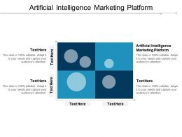 Artificial Intelligence Marketing Platform Ppt Powerpoint Presentation Icon Background Designs Cpb