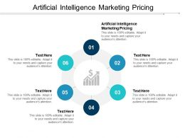 Artificial Intelligence Marketing Pricing Ppt Powerpoint Presentation Layouts Brochure Cpb