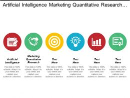 Artificial Intelligence Marketing Quantitative Research Assembly Process Vendor Management