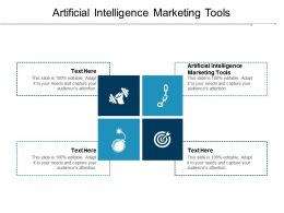 Artificial Intelligence Marketing Tools Ppt Powerpoint Presentation Diagram Templates Cpb