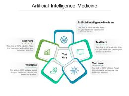 Artificial Intelligence Medicine Ppt Powerpoint Presentation Outline Graphics Pictures Cpb