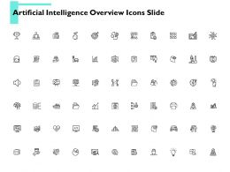 Artificial Intelligence Overview Icons Slide Knowledge Ppt Powerpoint Presentation Portfolio Picture