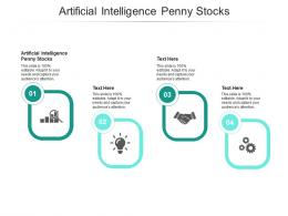 Artificial Intelligence Penny Stocks Ppt Powerpoint Presentation Slides Pictures Cpb