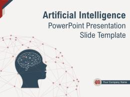 Artificial Intelligence Powerpoint Presentation Slide Template Complete Deck