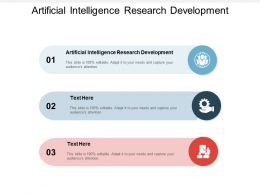 Artificial Intelligence Research Development Ppt Powerpoint Mockup Cpb