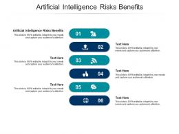 Artificial Intelligence Risks Benefits Ppt Powerpoint Presentation Styles Inspiration Cpb