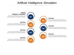 Artificial Intelligence Simulation Ppt Powerpoint Presentation Summary Ideas Cpb