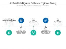 Artificial Intelligence Software Engineer Salary Ppt Powerpoint Presentation Gallery Cpb
