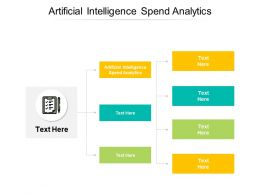 Artificial Intelligence Spend Analytics Ppt Powerpoint Presentation File Master Slide Cpb
