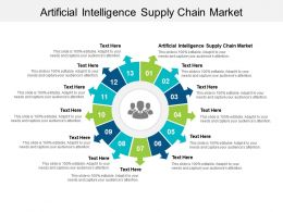 Artificial Intelligence Supply Chain Market Ppt Powerpoint Presentation Summary Format Cpb