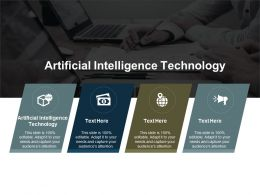 Artificial Intelligence Technology Ppt Powerpoint Presentation Slides Diagrams Cpb
