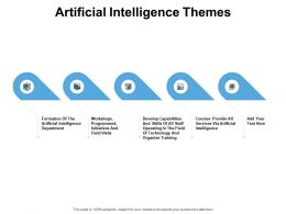 Artificial Intelligence Themes Department Ppt Powerpoint Presentation Pictures Portfolio