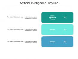 Artificial Intelligence Timeline Ppt Powerpoint Presentation Infographic Template Examples Cpb