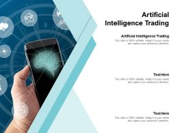 Artificial Intelligence Trading Ppt Powerpoint Presentation Styles Format Cpb