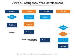 Artificial Intelligence Web Development Ppt Powerpoint Presentation Tips Cpb
