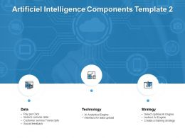 Artificiel Intelligence Components Technology Ppt Powerpoint Presentation Pictures Visuals