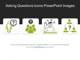 Asking Questions Icons Powerpoint Images