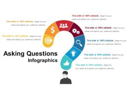 Asking Questions Infographics Powerpoint Layout
