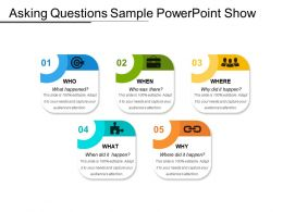 Asking Questions Sample Powerpoint Show