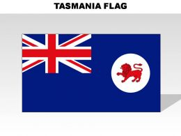 Asmania Country Powerpoint Flags